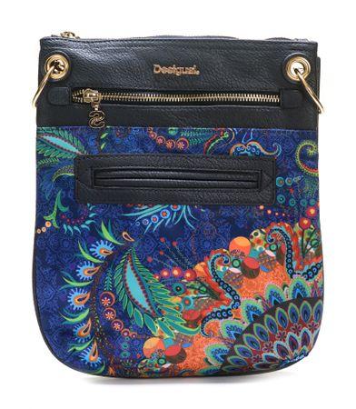 Desigual ženska ročna torbica temno modra Bandolera Atenas