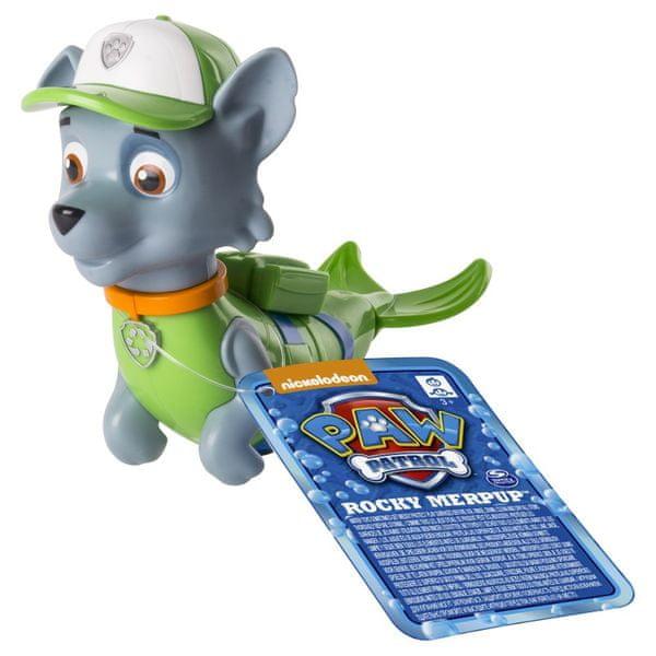 Spin Master Paw Patrol Plavací figurka Rocky zelená