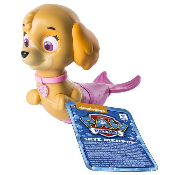 Spin Master Paw Patrol Plavací figurka Skye béžová