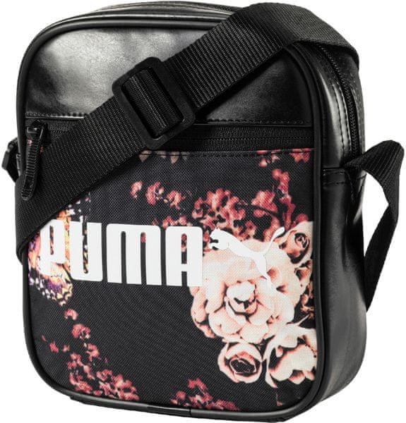 Puma Campus Portable Black Flower Graphic