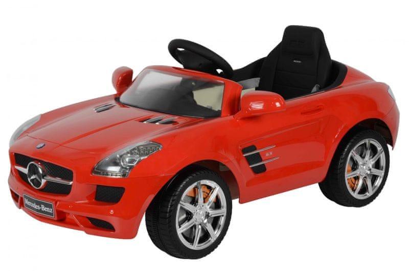 Elektrické auto Mercedes-Benz SLS AMG červené