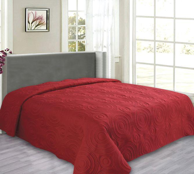 My Best Home Přehoz na postel Reflection červená, 240x260 cm