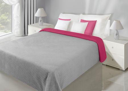 My Best Home narzuta na łóżko Axel 220 x 240 cm, amarantowa