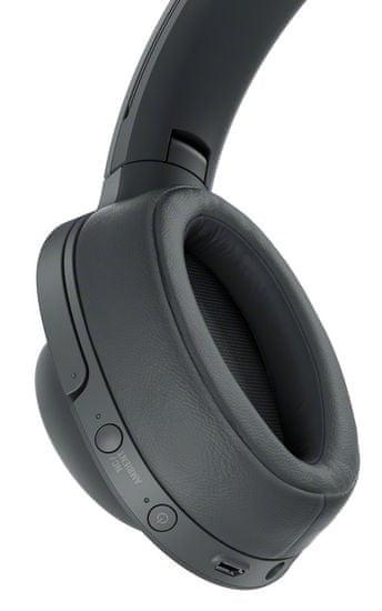 Sony bluetooth slušalke z odpravljanjem šumov WH-H900N, črne - Odprta embalaža