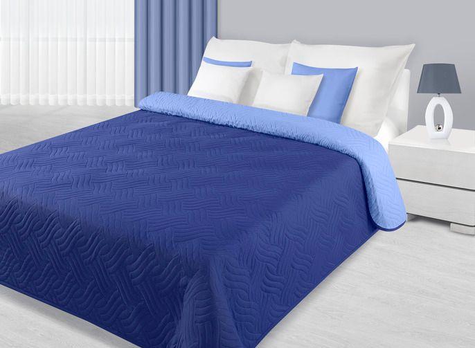 My Best Home Přehoz na postel Moris modrá 220x240 cm