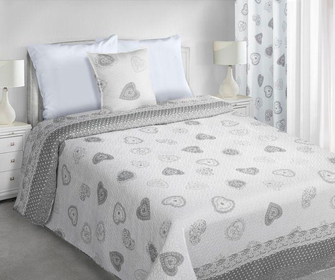 My Best Home Přehoz na postel Romace srdce, 220x240 cm