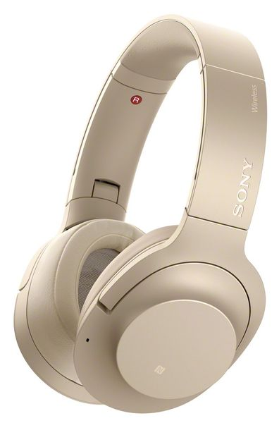 Sony WH-H900N, zlatá