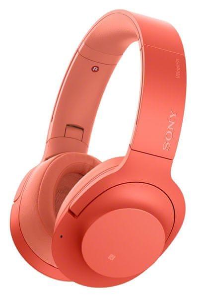 Sony WH-H900N, červená