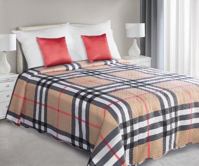 My Best Home Přehoz na postel Artur béžová, 220x240 cm