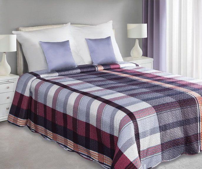 My Best Home Přehoz na postel Artur modrá, 220x240 cm