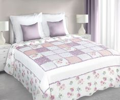 My Best Home Ágytakaró Patchwork rózsaszín 220x240 cm c2e93482e3