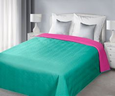 My Best Home Přehoz na postel Moris tyrkys 220x240 cm