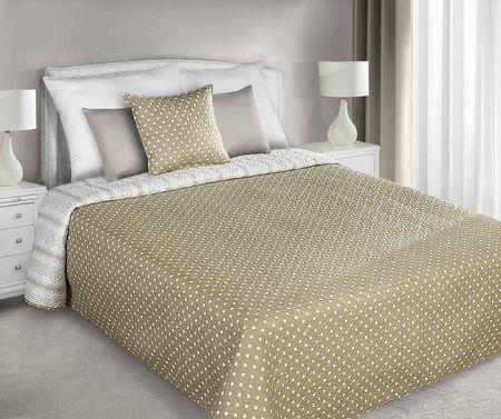 My Best Home narzuta na łóżko Romace 220 x 240 cm, kropki