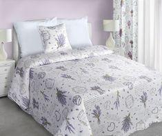 My Best Home narzuta na łóżko Romace 220 x 240 cm, lawenda