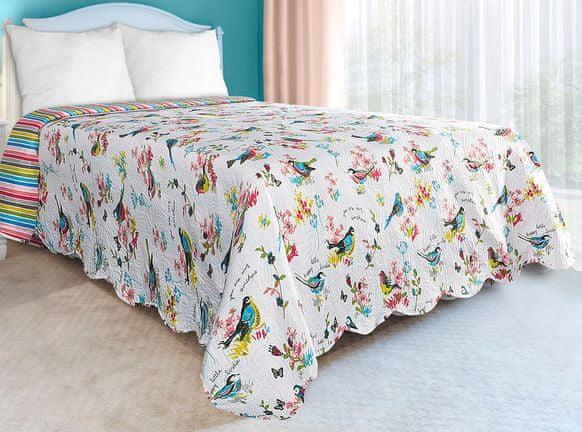 My Best Home Přehoz na postel Romace bird, 220x240 cm