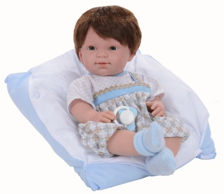 Nines Primavera panenka novorozeně 37 cm kluk