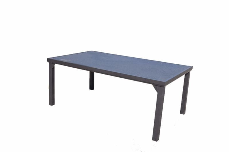 Dimenza Hliníkový jídelní stůl VADUZ 180x105 cm - deska Stonetec