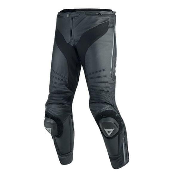 Dainese kalhoty MISANO vel.52 černá/antracit, kůže