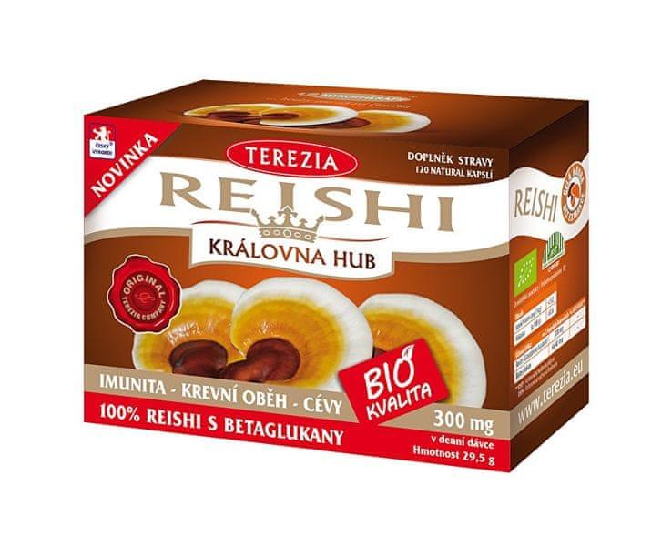 TEREZIA COMPANY BIO Reishi 120 kapslí