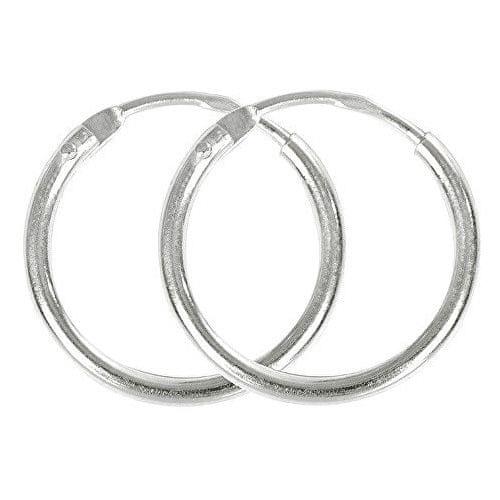 Brilio Silver Stříbrné náušnice kroužky 431 001 00766 04