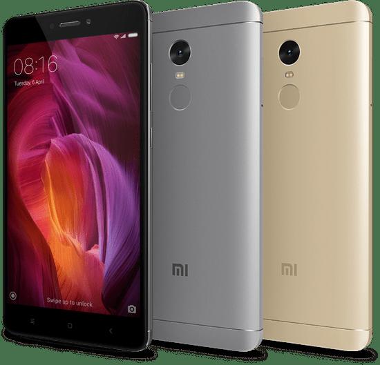Xiaomi Redmi Note 4, 4GB/64GB, Global Version, černý
