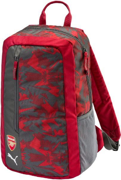 Puma Arsenal Camo Fanwear Backpack Chili Pepper