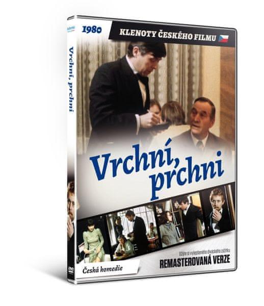 Vrchní prchni - edice KLENOTY ČESKÉHO FILMU (remasterovaná verze) - DVD