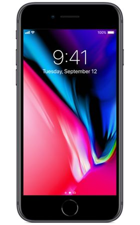 Apple GSM telefon iPhone 8 256 GB, Space Grey