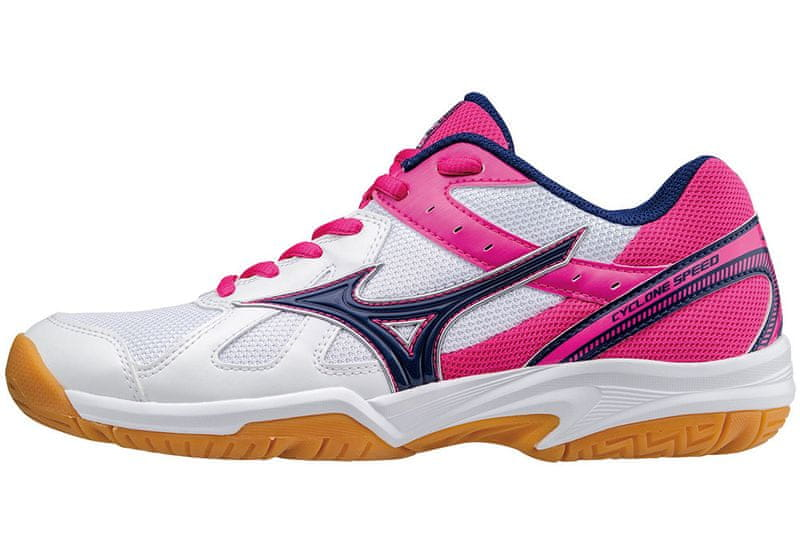 Mizuno Cyclone Speed (W)/Wht/Blueprint/PinkGlo/40.5/7.0