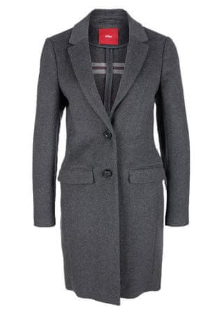 s.Oliver dámský kabát 36 šedá