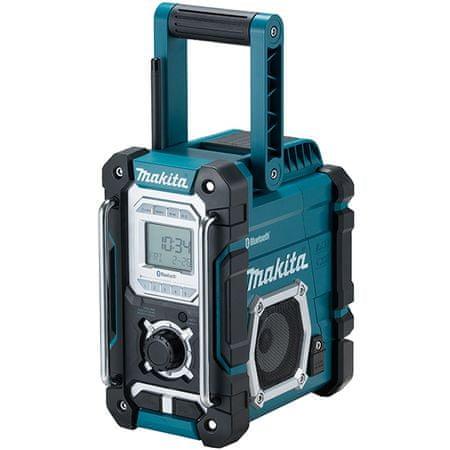 Makita akumulatorski prenosni Bluetooth radio DMR108