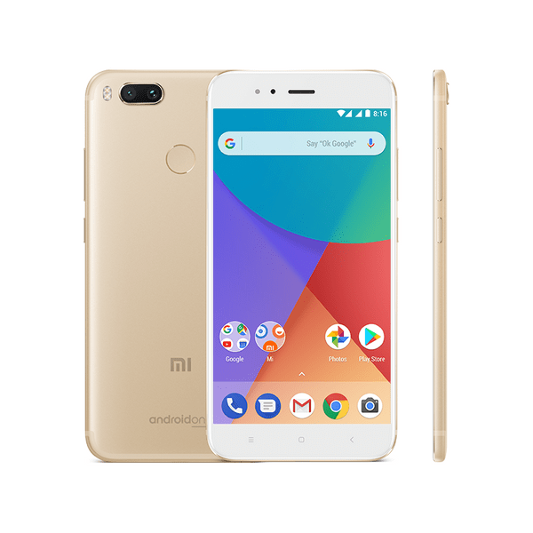 Xiaomi Mi A1 Gold, 4GB/64GB, CZ LTE, Global Version