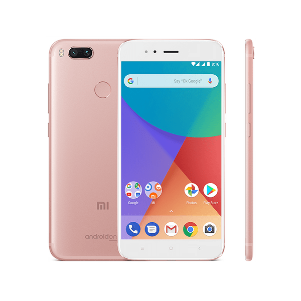 Xiaomi Mi A1 Rose Gold, 4GB/64GB, CZ LTE, Global Version