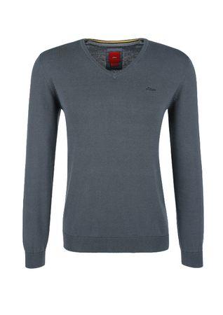 s.Oliver pánský svetr XL šedá