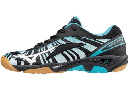 Mizuno Wave Ghost/BlueAtoll/Wht/Blk/43.0/9.0