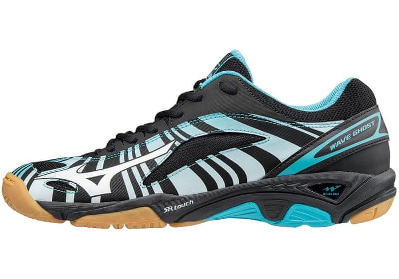 Mizuno Wave Ghost/BlueAtoll/Wht/Blk/45.0/10.5
