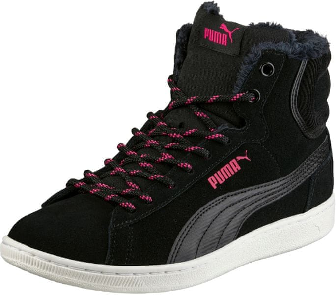 Puma Vikky Mid Corduroy Black 40,5