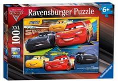 Ravensburger sestavljanka Disney Cars 3: Polni plin!, XXL, 100 kos