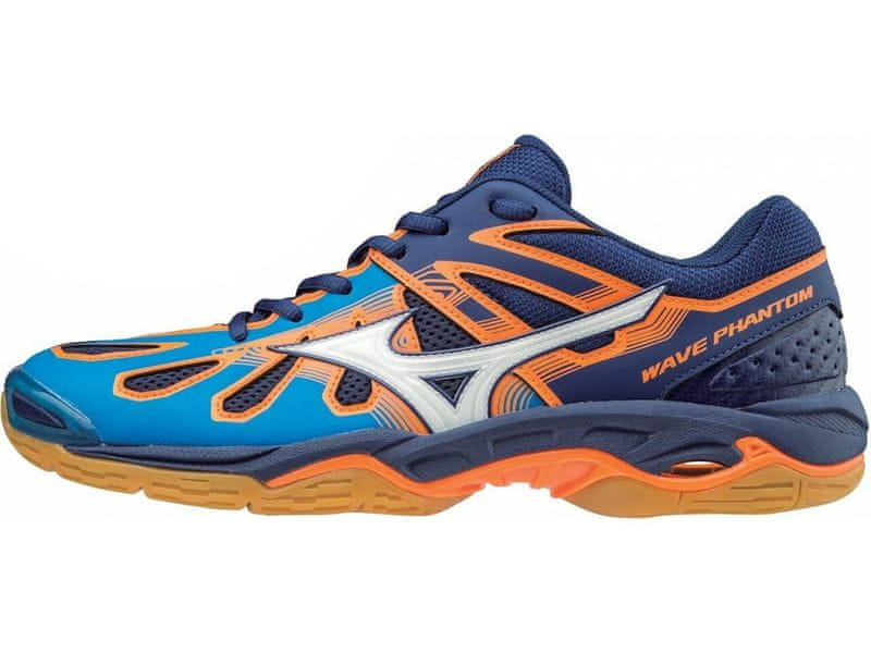 Mizuno Wave Phantom/DirBlue/Wht/BlueDepths/43.0/9.0