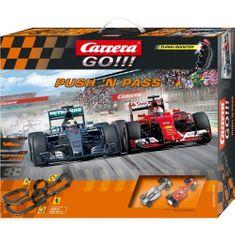 CARRERA Samochód wyścigowy GO Push´n pass