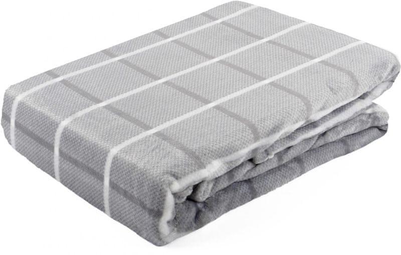 My Best Home Deka z mikrovlákna Bruno 150x200 cm šedá