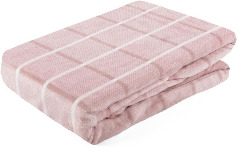 My Best Home Deka z mikrovlákna Bruno 150x200 cm růžová