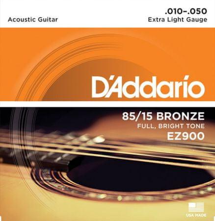 Daddario EZ900 Kovové struny pro akustickou kytaru