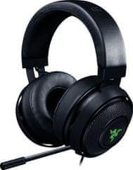 Razer słuchawki przewodowe Kraken 7.1 V2 Oval, czarne (RZ04-02060200-R3M1)