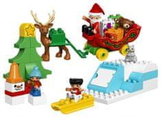 LEGO DUPLO 10837 - set Božičkove zimske počitnice