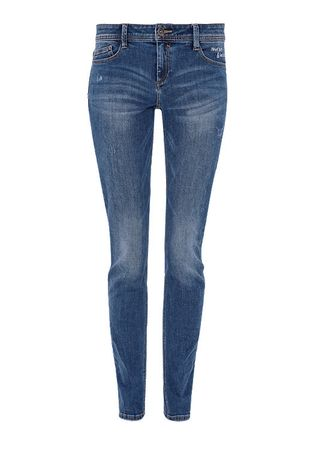 s.Oliver jeansy damskie 36/32 niebieski