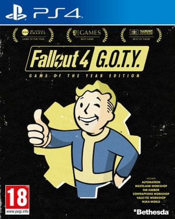 Bethesda Softworks Fallout 4 Game of The Year / PS4