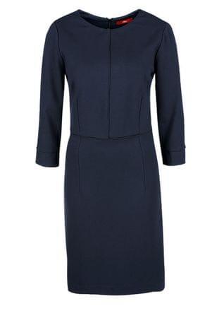 s.Oliver dámské šaty 40 modrá
