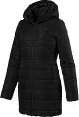 Puma ženska podložena jakna ESS, črna