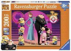 Ravensburger Puzzle Minionki Jak ukraść Księżyc 3 (200 elementów)